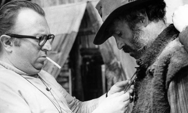 Il regista Sergio Leone (1929-1989), scatto del fotografo Angelo Novi