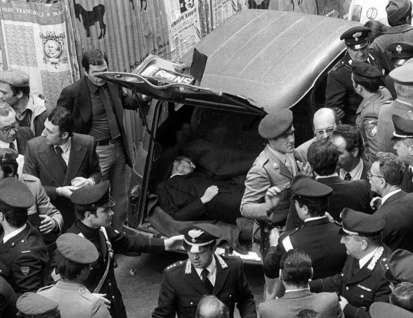 Il giorno in cui venne ritrovato il corpo di Aldo Moro (9 maggio 1978)