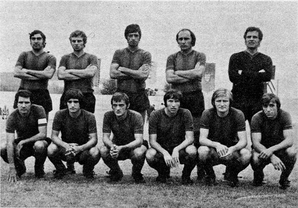La Ternana 1972-73 (Almanacco Panini 1973)