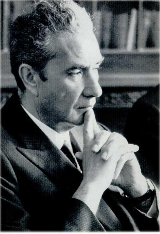 Lo statista democristiano Aldo Moro (1916-1978)