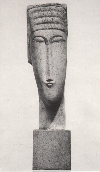 Amedeo Modigliani, Testa, 1911-12, Philadelphia Museum of Art (testedimodigliani.xoom.it)