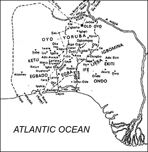 Città-Stato degli Yoruba fra gli attuali Benin e Nigeria(www.reunionblackfamily.com)