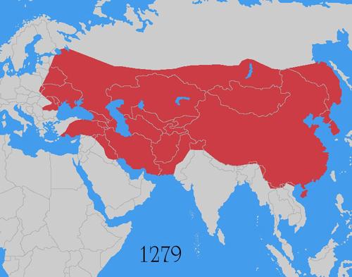 L'Impero mongolo alla massima espansione - mulligansquiz.blogspot.it