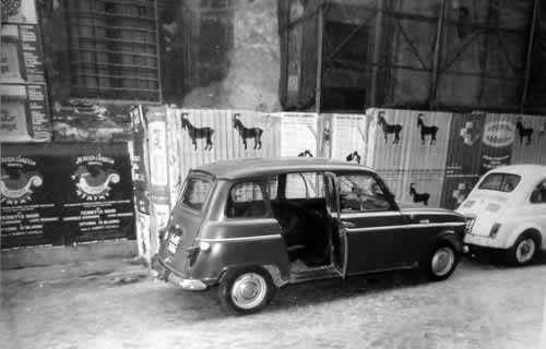 La Renault 4 in via Caetani, 9 maggio 1978