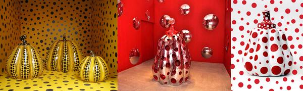 Yayoi Kusama, Zucche, Biennale di Venezia, 1993 - imperfect.it