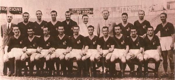 Il primo scudetto della Roma, 1941-42 – www.almanaccogiallorosso.it