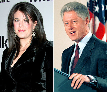 Monica Lewinsky e Bill Clinton