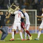 Serbia-Albania, a picco il buonismo Uefa
