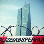 Blockupy contro l'austerità: Francoforte nel caos