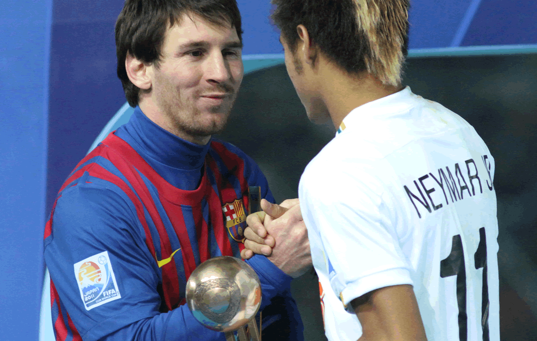 Messi accetta il Pallone D'Oro